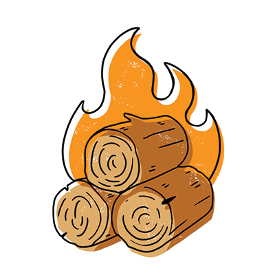 Just Call Him Mr Firewood Ben Cole Of Blue Moon Farms Is Known Not For The Countless Cords He Delivers To Hundreds Fireplace Loving Homeowners