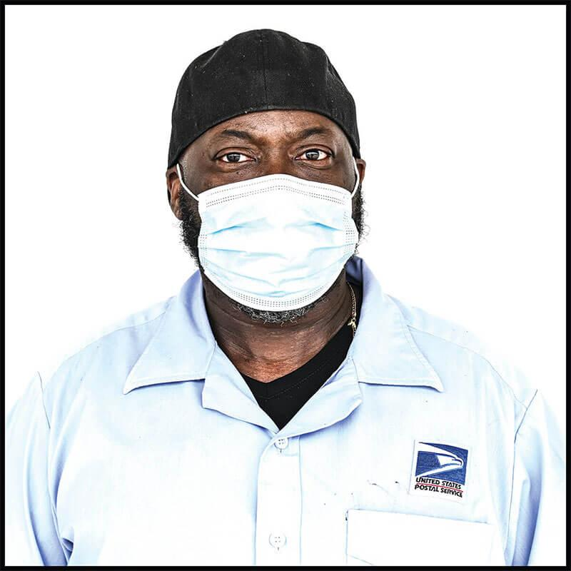 A picture of Postal worker Jay Wick