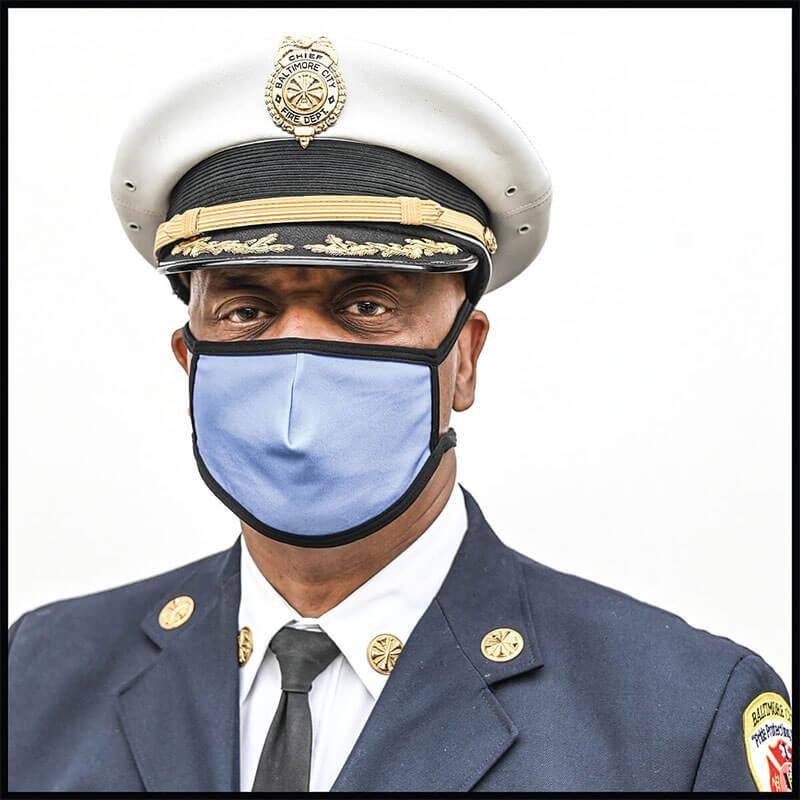 A picture of Baltimore City Fire Chief Niles Ford