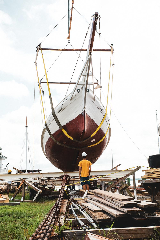 The Art Of Chesapeake Bay Boatbuilding