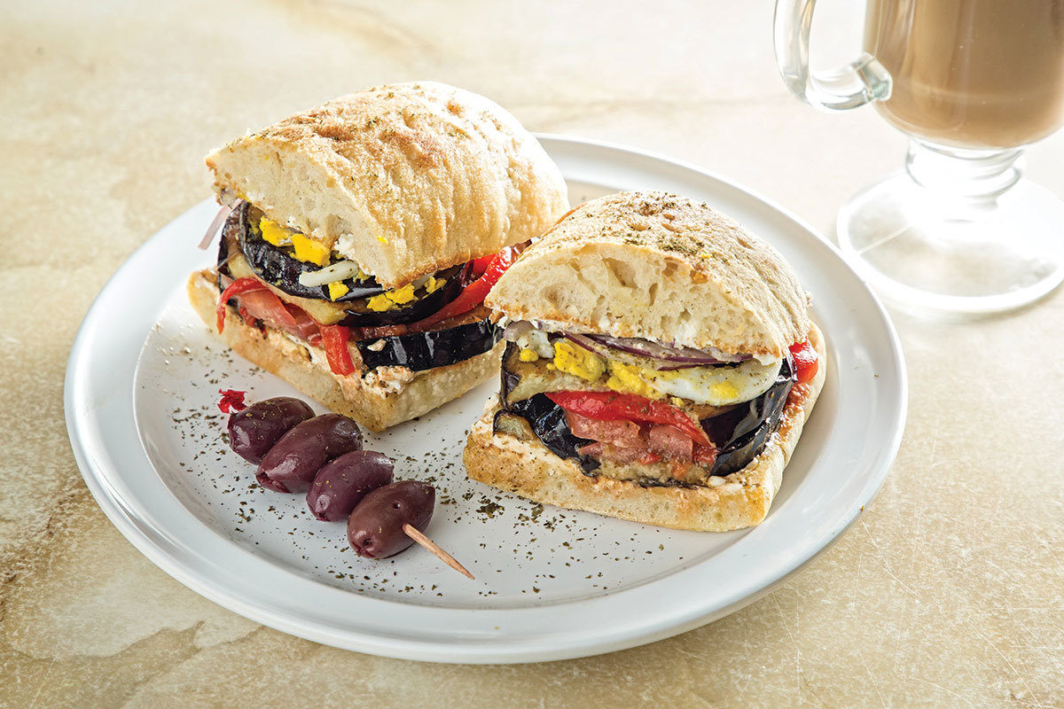 The za'atar sandwich at Canéla.Scott Suchman