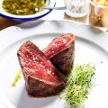 The filete de bife with chimichurri.Photography by Scott Suchman