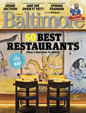 Baltimore magazine, March 2013Photo by Scott Suchman