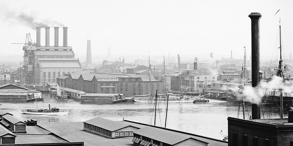 Inner Harbor, 1903Courtesy of Library of Congress, Prints & Photographs Division, Detriot Publishing Company Collection, [LC-DIG-det-4a06522]