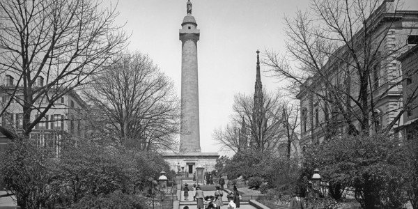 Washington Monument. Courtesy of Library of Congress, Prints & Photographs Division, Detriot Publishing Company Collection, [LC-DIG-det-4a29716]