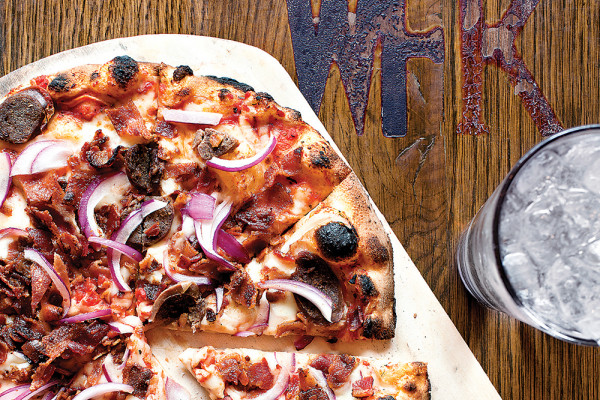 The Gunpowder Pizza.Photography by Jennifer Hughes
