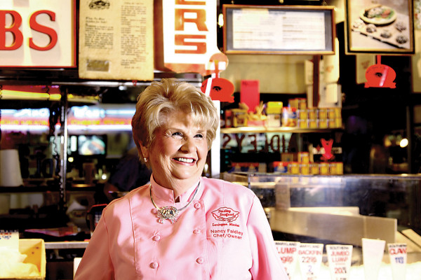 Nancy Faidley-Devine, co-owner of Faidley Seafood in Lexington Market. Photo by Stacy Zarin