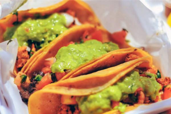 Nothing beats food truck tacos.Taste of 3 Cities.