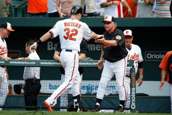 -Photo by the Baltimore Orioles