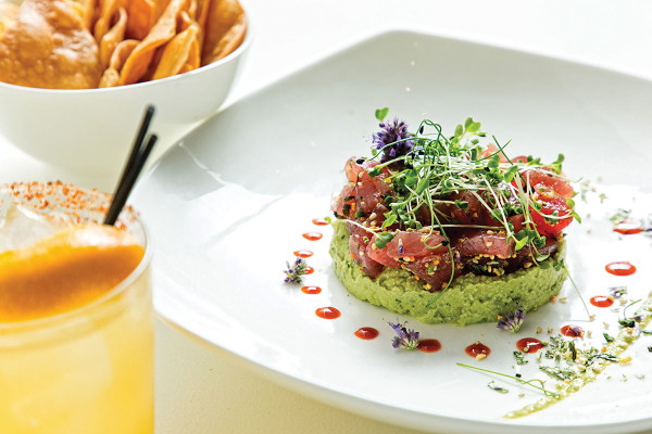 The ahi tuna poke.Scott Suchman