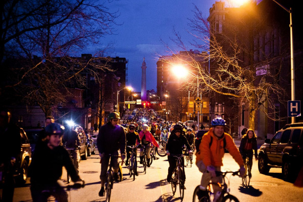 Baltimore Bike Party.O'Doherty Photography