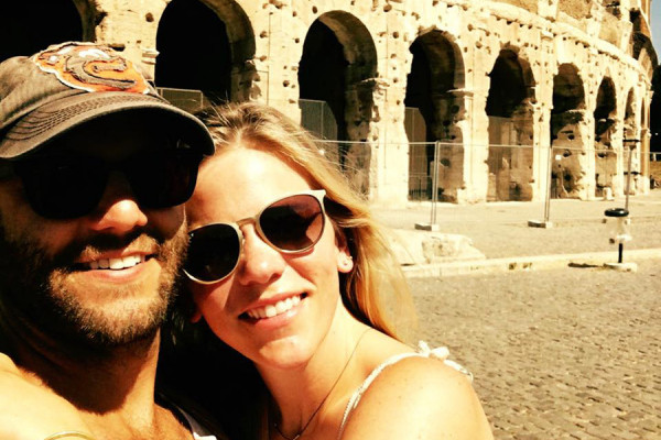 In front of the Colosseum, most likely feeling awful for not feeling awful.Courtesy of Megan Isennock