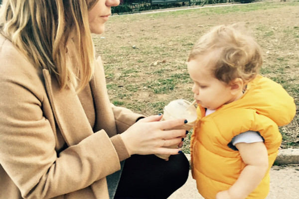 Love is never having to say you're sorry for backwashing into your mother's smoothie.Courtesy of Megan Isennock