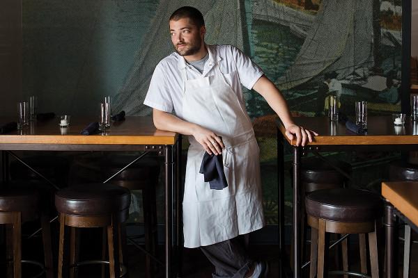 Chef Jordan MillerPhotography by Ryan Lavine