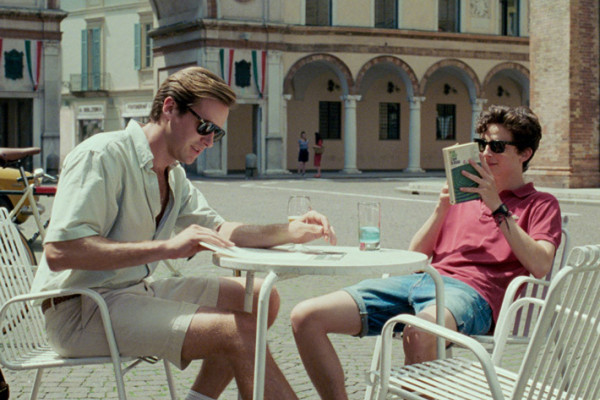 Armie Hammer and Timothee Chalamet in Call Me By Your Name.Sony Pictures Classics