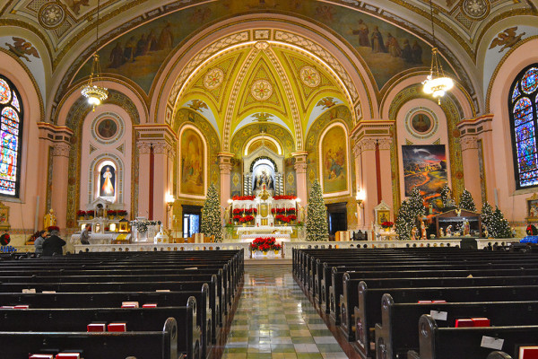In 1993, Holy Rosary Church was designated as the Archdiocesan Shrine of Divine Mercy. Holy Rosary received even greater notoriety when the Vatican recognized the healing of Father Ronald Pytel's heart condition as a miracle through the intercession of Blessed Faustina Kowalska, which led to the Polish nun's canonization in 2000.Photography by Anthony Monczewski
