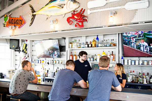 Scenes from The DockBar at Boathouse Canton.Photography by Scott Suchman