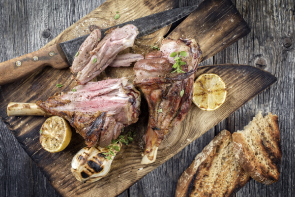 Traditional Easter lamb.Shutterstock