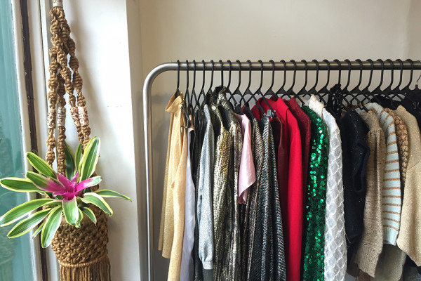 Clothing selection at the new joint venture store in Mt. Vernon.Photography by Olivia Amato