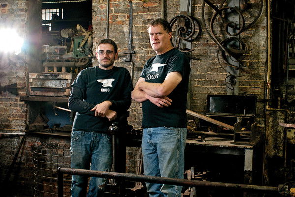 Patrick Cutter, left, and owner Peter Krug.Photography by Cory Donovan