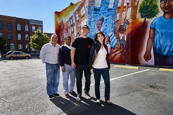 Juan Nuñez, Lynne Distance, Randy Coffren, and Amanda Smit-PetersSean Scheidt