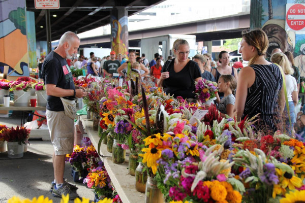 The Baltimore Farmers' Market and Bazaar returns on Sunday, April 8.Baltimore Office of Promotion and The Arts