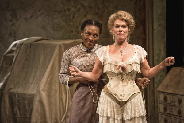 Dawn Ursula, left, and Beth Hylton.Clinton B Photography / Everyman Theatre