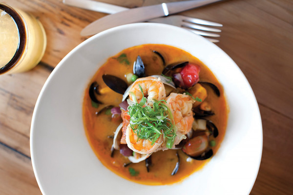 The bowl of bouillabaisse.Photography by Scott Suchman
