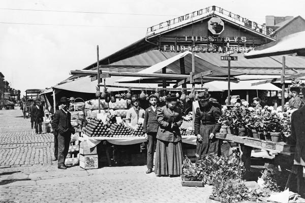Lexington Market, 1850Courtes of Library of Congress, Prints & Photographs Divisions, [LC-USZ62-15860]