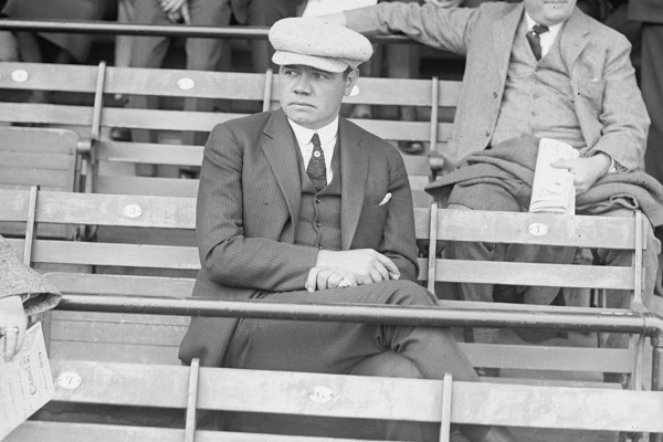 Babe Ruth Washington, D.C. in 1922.Courtesy of WikiCommons
