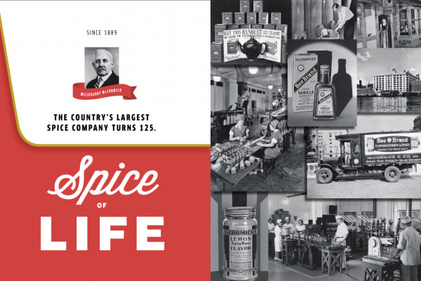 Archive images courtesy of McCormick Company, Inc.