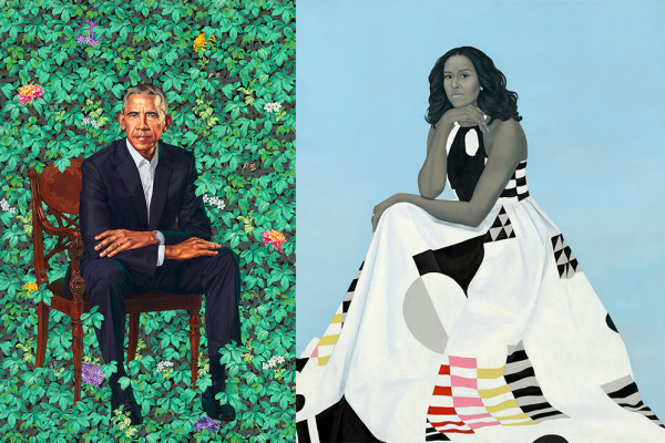 Kehinde Wiley and Amy Sherald
