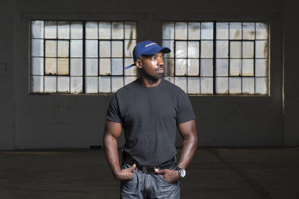 Chris Wilson has started two small businesses since his release.Photography by David Colwell