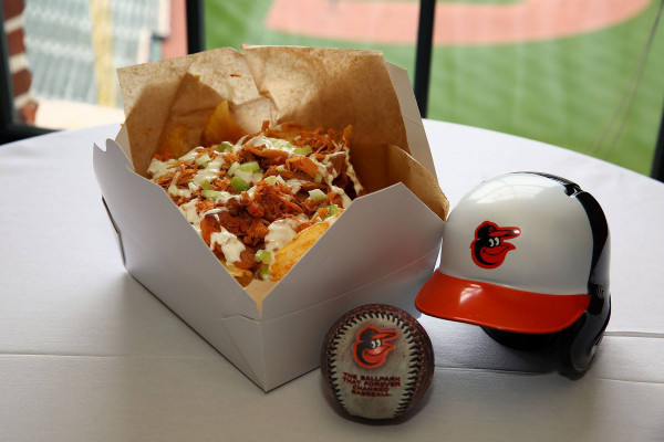 The new Spicy Chicken Chipper.Courtesy of the Baltimore Orioles