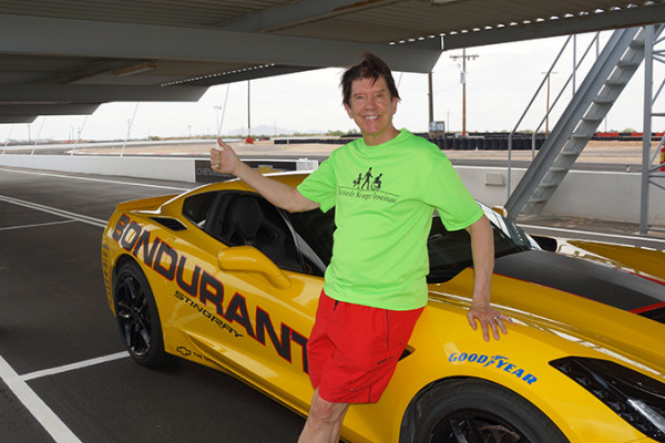 Patrick Rummerfield at the Bondurant School of High Performance Driving in Arizona.Courtesy of Patrick Rummerfield