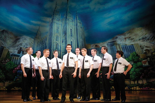 The Book of Mormon First National Tour Company, The Book of Mormon First National TourPhoto By Joan Marcus, 2013