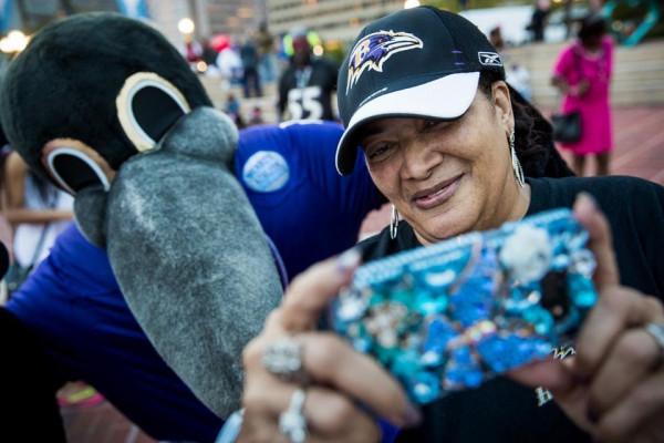 Courtesy of the Baltimore Ravens