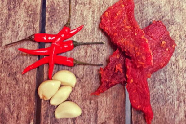 Sriracha Jerky. Mobtown Meatsnacks