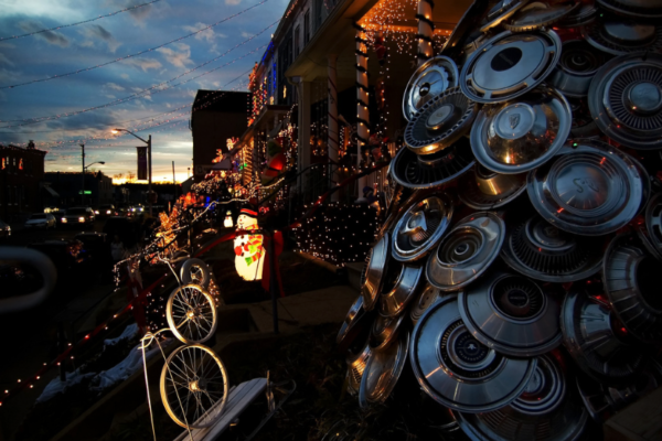Miracle on 34th Street in Hampden.Photo by Sneakerdog via Flickr.