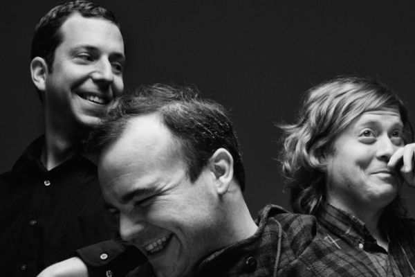 Future Islands plays Fields Festival this weekend.4AD