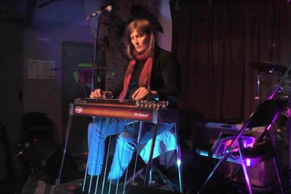 Pedal steel guitarist Susan AlcornVideo still