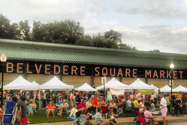 Summer Sounds at The Square returns to Belvedere Square on May 27. Courtesy of Qualityinaction via Instagram