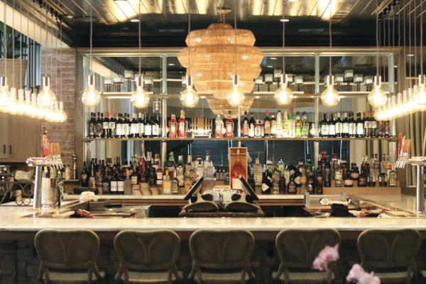 The bar at Tagliata. Courtesy of Tagliata