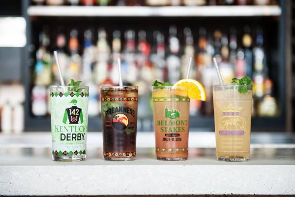 Mt. Washington Tavern's new collection of race-inspired cocktails.Courtesy of Mt. Washington Tavern