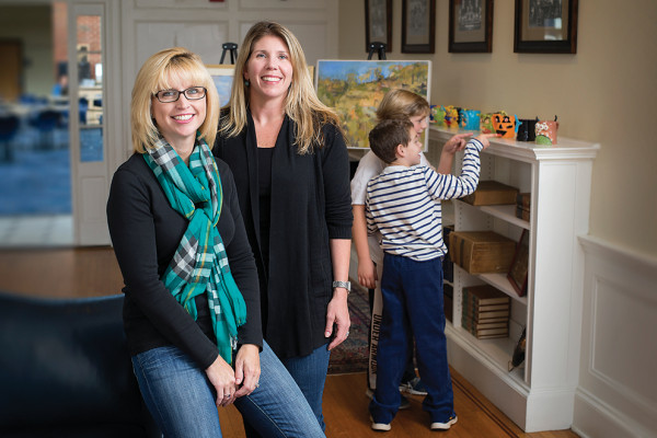 Heidi Kenny-Berman, left, and Jamie Seward of Tripster.Photography by Christopher Myers
