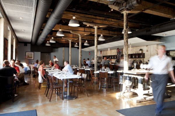 Wine Market Bistro is closing in Locust Point next week.Courtesy of SM+P Architects