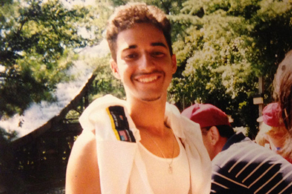Adnan Syed in high school.—Chicago Public Radio