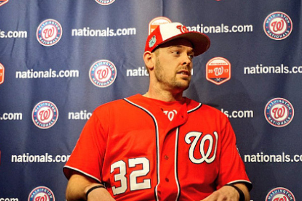 Courtesy of TwitterMatt Wieters Nats