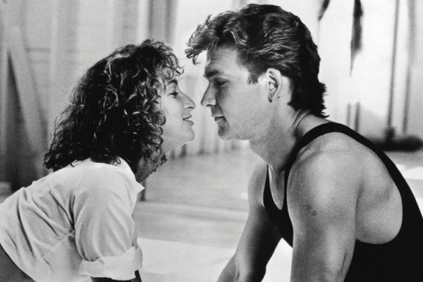 Jennifer Grey and Patrick Swayze in Dirty Dancing. Mountain Lake Lodge