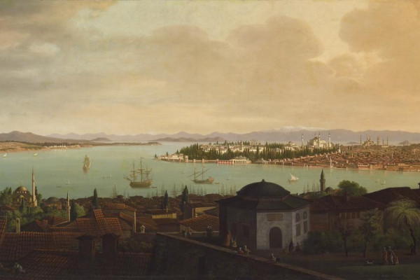 View of Constantinople by Antoine de Favray, circa 1762-1771.Courtesy of The Walters Art Museum.